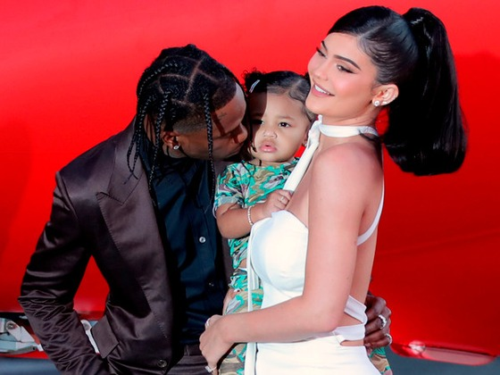 "Inside Kylie Jenner and Travis Scott's ""Family Fun"" Night Out With Stormi Webster"