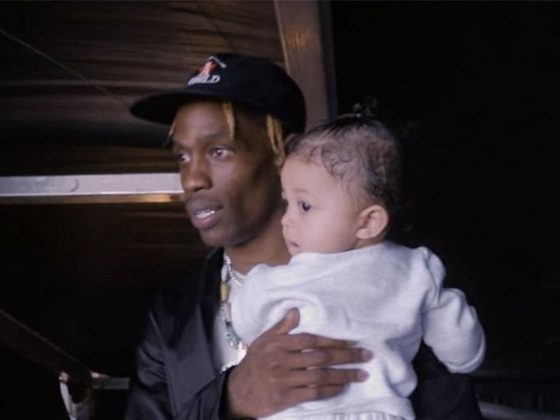 Travis Scott Shares Adorable Photos of Daughter Stormi Webster Channeling His Style