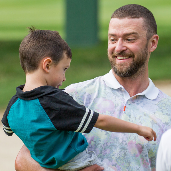 Justin Timberlake's Golf Lessons for Son Silas Are Un-Fore-Gettable