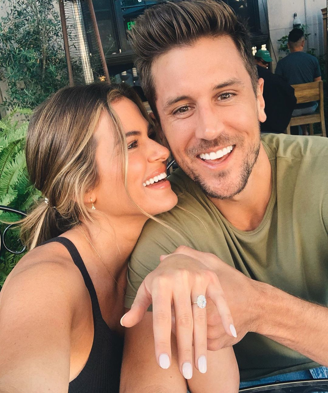 JoJo Fletcher, Jordan Rodgers, Engagement Instagram