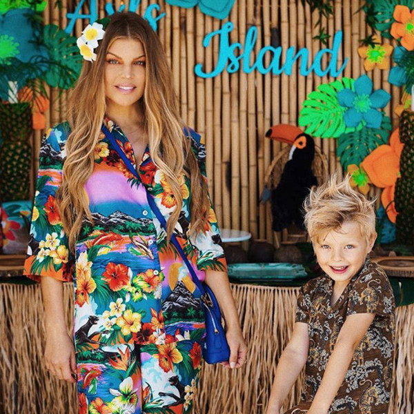 Fergie's Epic Birthday Party for Her Son Has Us Dreaming of Paradise