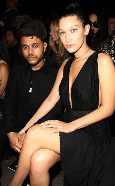 The Weekend, Bella Hadid, Fashion Week Couples