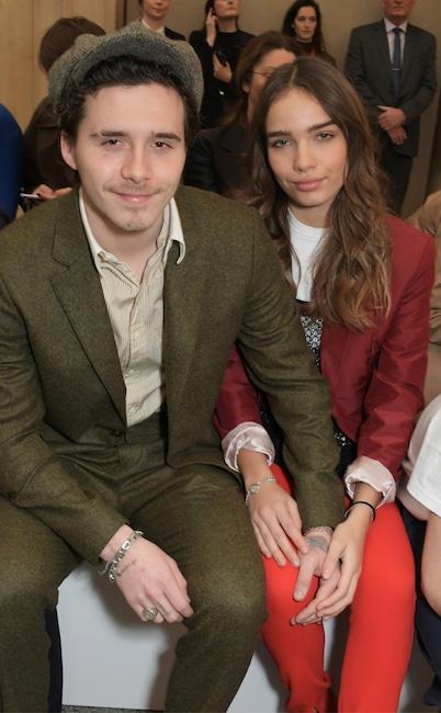 Brooklyn Beckham, Hana Cross, Fashion Week Couples