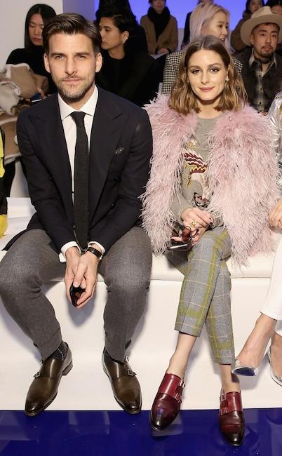 Johannes Huebl, Olivia Palermo, Fashion Week Couples