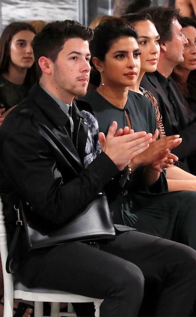 Nick Jonas, Priyanka Chopra, Fashion Week Couples