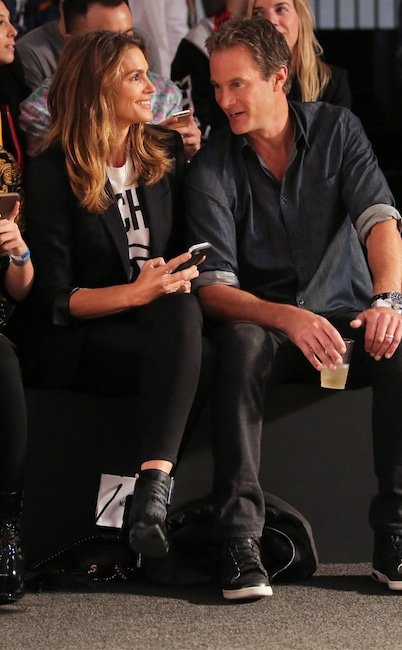 Cindy Crawford, Rande Gerber, Fashion Week Couples