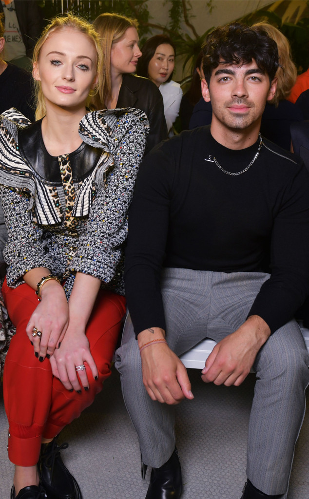 Sophie Turner, Joe Jonas, Fashion Week Couples