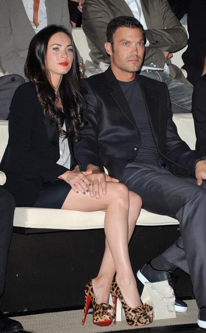 Megan Fox, Brian Austin Green, Fashion Week Couples