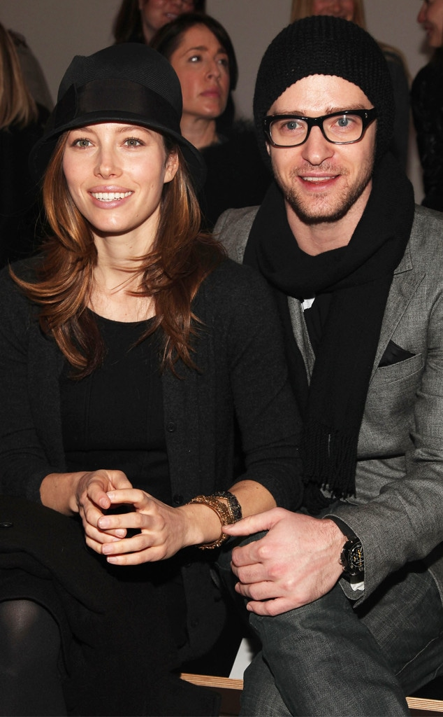 Jessica Biel, Justin Timberlake, Fashion Week Couples