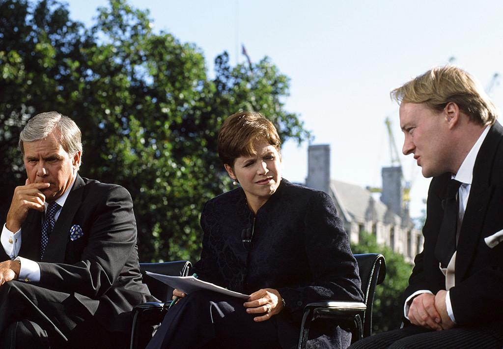 Katie Couric, Princess Diana, Tom Brokaw