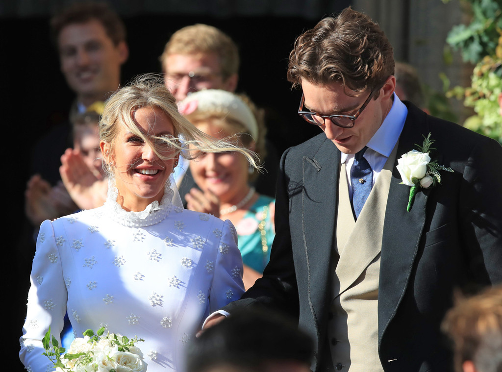 Ellie Goulding, Caspar Jopling Wedding