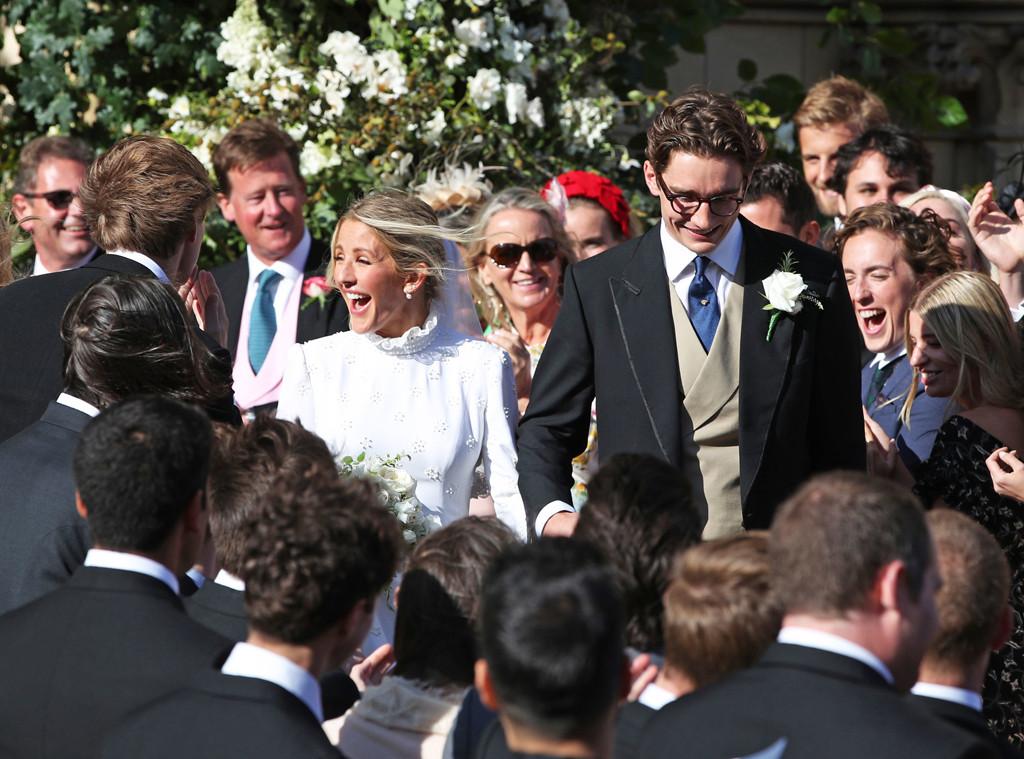 Ellie Goulding And Caspar Jopling S Wedding In Photos E News