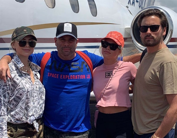 Sofia Richie and Scott Disick Jet Off to Mexico With Vanderpump Rules' Lala Kent