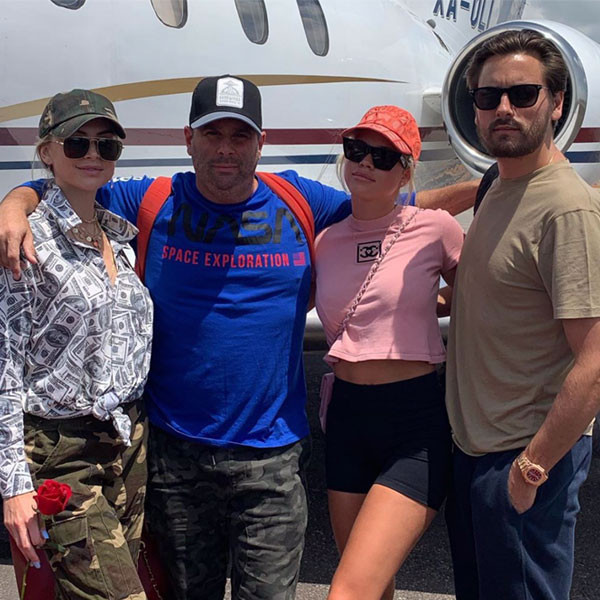 Sofia Richie and Scott Disick Jet Off to Mexico With