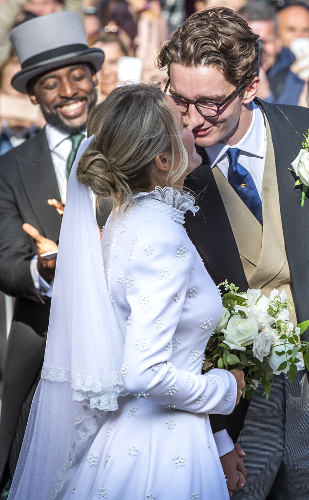 Ellie Goulding, Caspar Jopping Wedding, Dress