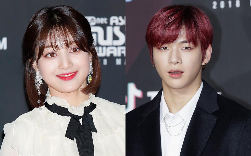 Jihyo, Kang Daniel, MAMA 2018