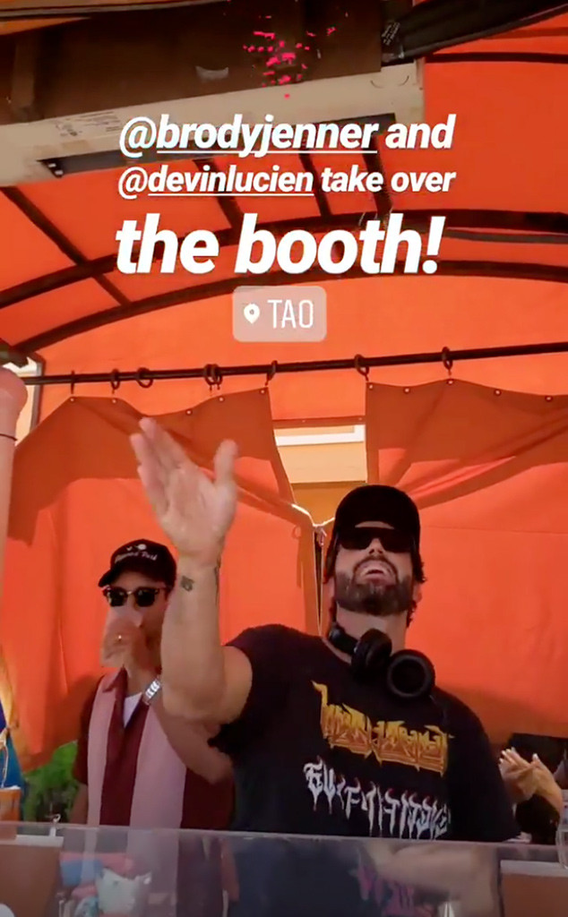 Brody Jenner, Las Vegas, Post-Breakup, Tao Beach Las Vegas