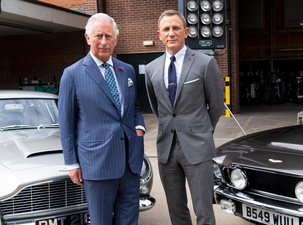 Prince Charles, Daniel Craig