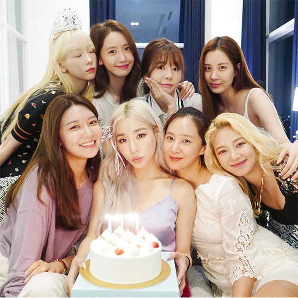 Girls' Generation Had A Mini Reunion To Celebrate Tiffany Young's Birthday