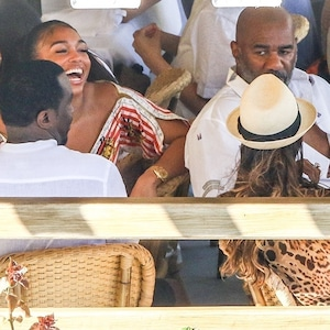 Sean Diddy Combs Lori Harvey, Steve Harvey