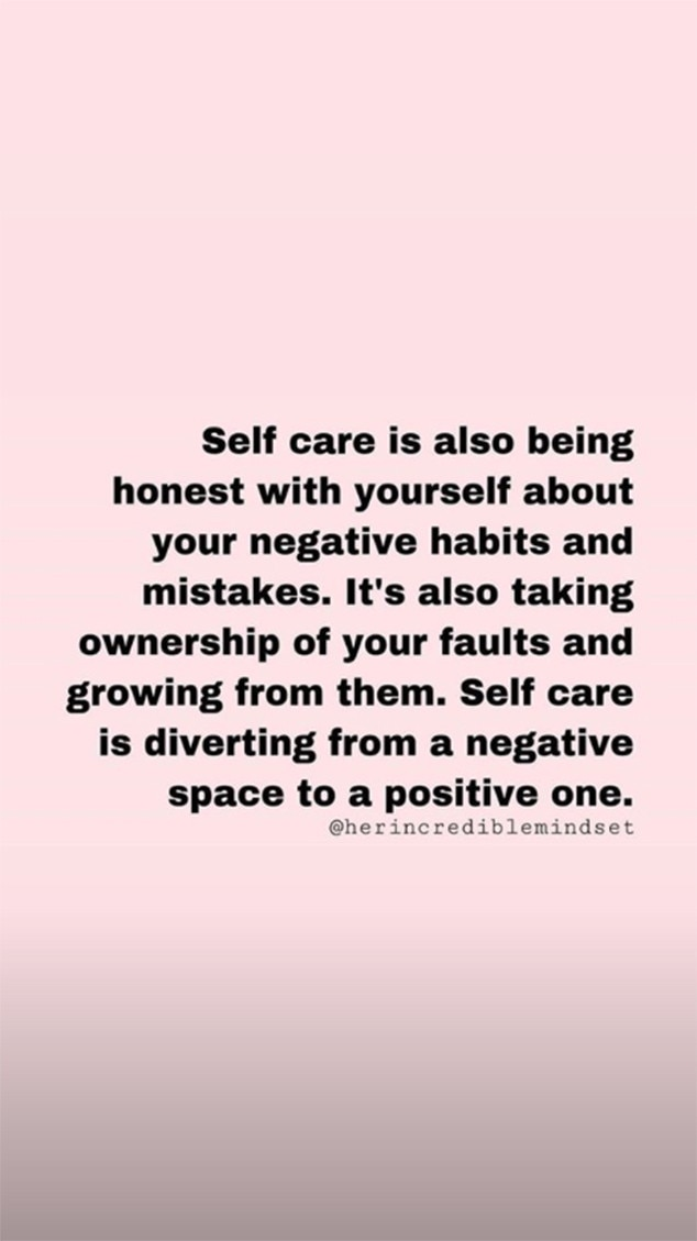 On Self Care from Khloe Kardashian\'s Inspirational Instagram ...