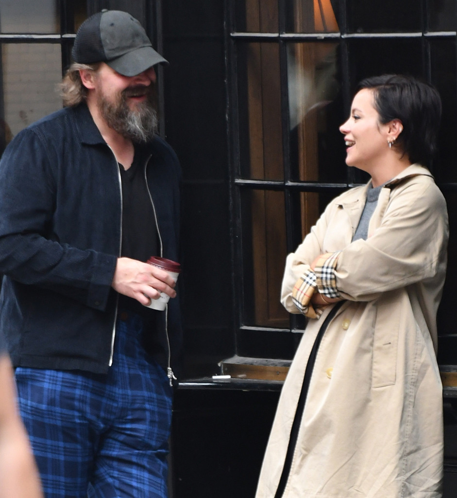 Lily Allen and David Harbour Spotted Together for Night Out in
