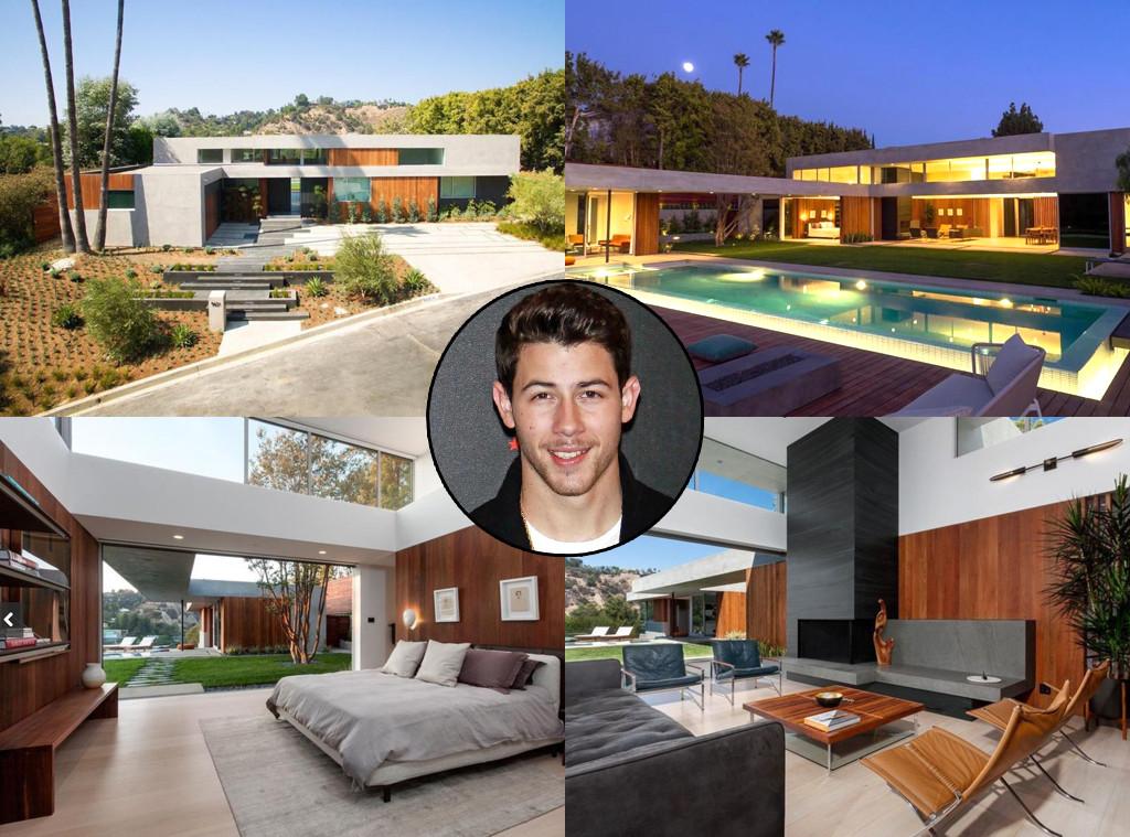 Nick Jonas, Beverly Hills Home, House