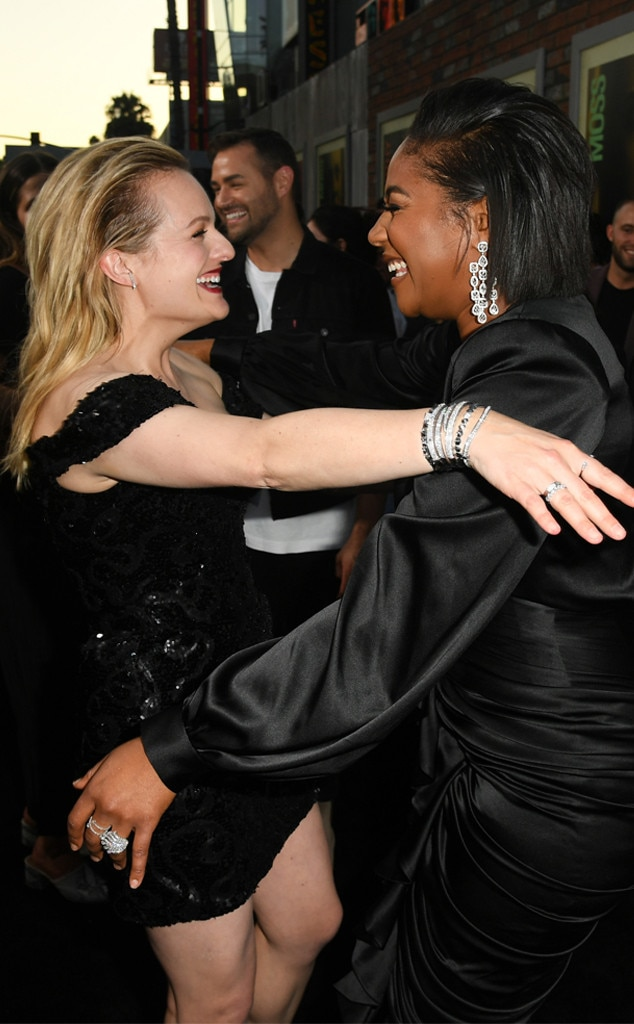 Elisabeth Moss, Tiffany Haddish