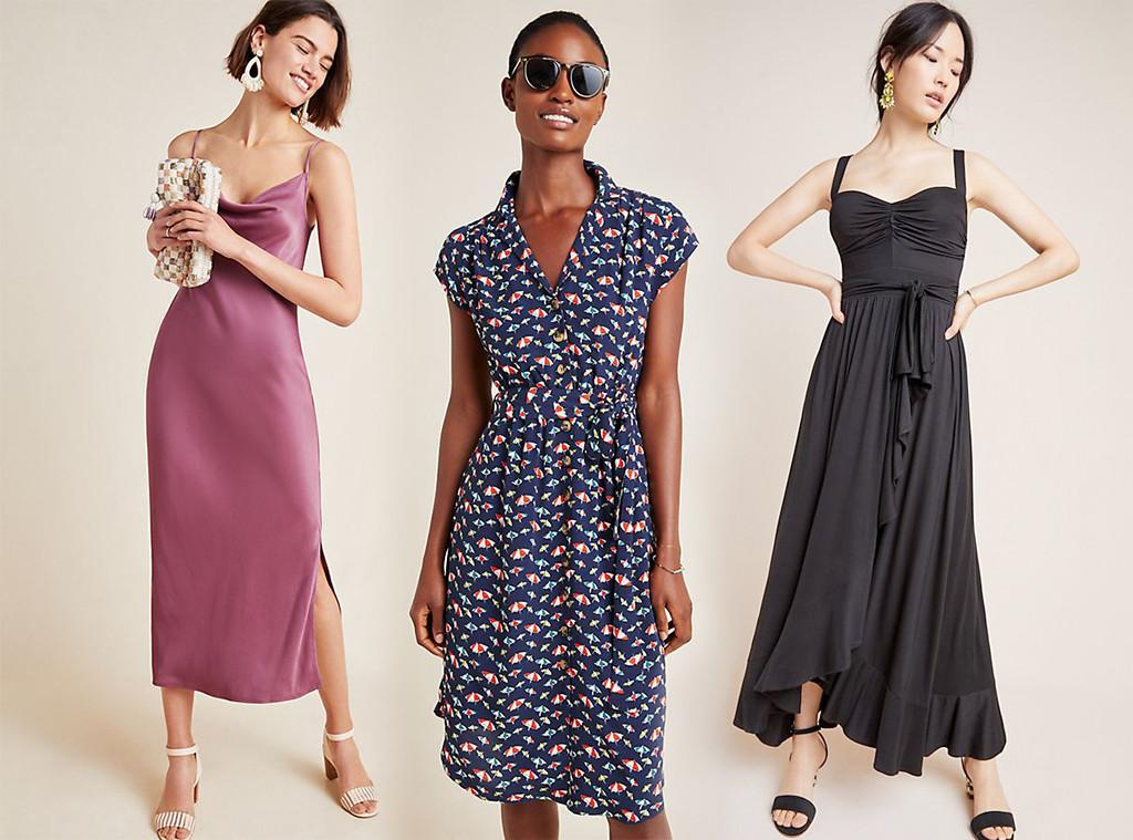 E-Comm: Anthropologie Dresses