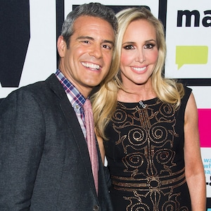 Andy Cohen and Shannon Beador