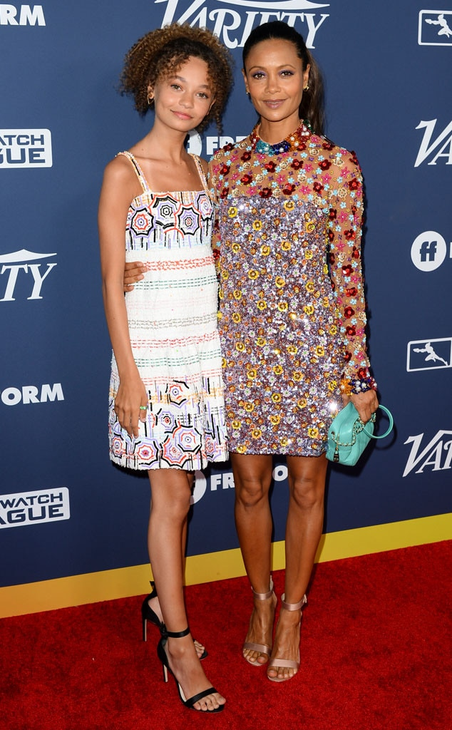 Thandie Newton, Nico Parker, Variety Power of Young Hollywood