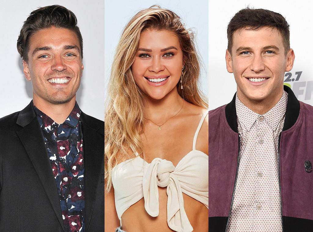 Dean Unglert, Caelynn Miller-Keyes, Blake Horstmann, Bachelor in Paradise