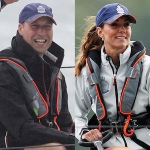 Prince William, Kate Middleton, Kings Cup Regatta