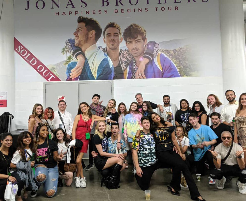 Jonas Brothers, Tour, Priyanka Chopra, Sophie Turner