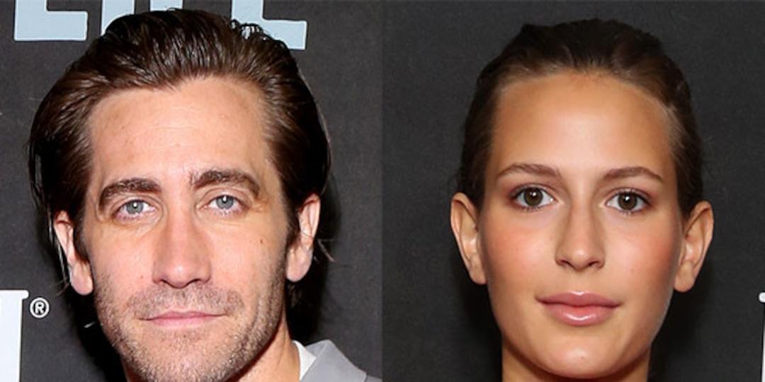 Jake Gyllenhaal and Girlfriend Jeanne Cadieu Get Cozy in Rare Public Sighting - E! Online.jpg