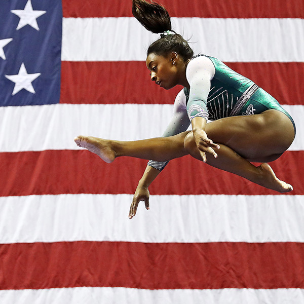 Simone Biles' History-Making Dismount Will Get You Pumped for Olympics