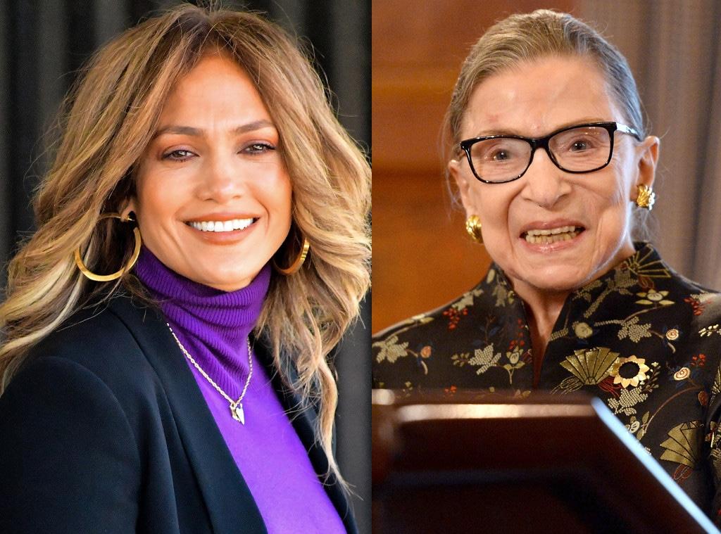 Ruth Bader Ginsberg, Jennifer Lopez
