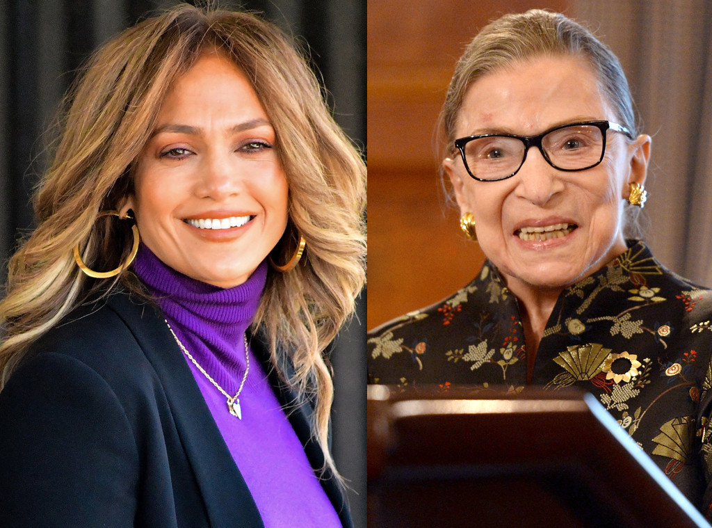 Jennifer Lopez Got The Best Marriage Advice From Ruth Bader Ginsburg E Online