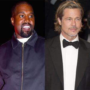 Kanye West, Brad Pitt