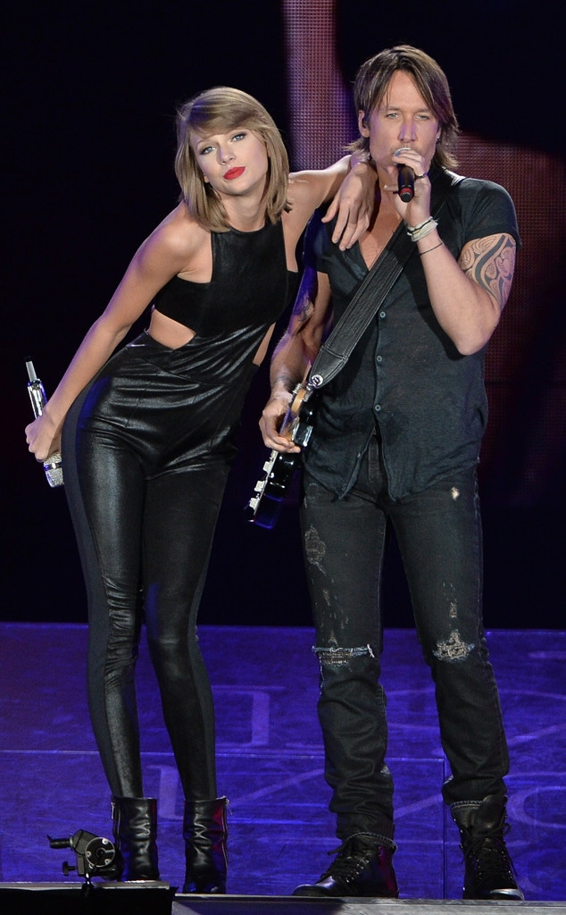 Taylor Swift, Keith Urban