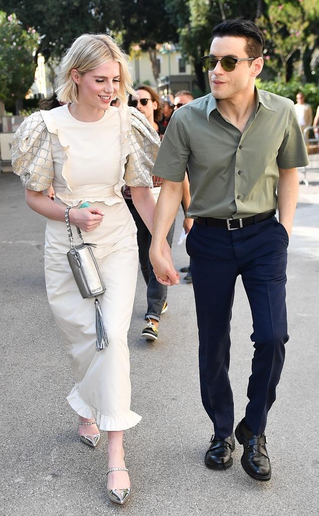 Lucy Boynton, Rami Malek, Venice Film Festival