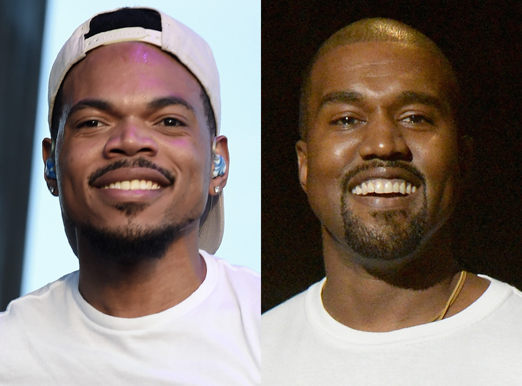 Chance the Rapper, Kanye West