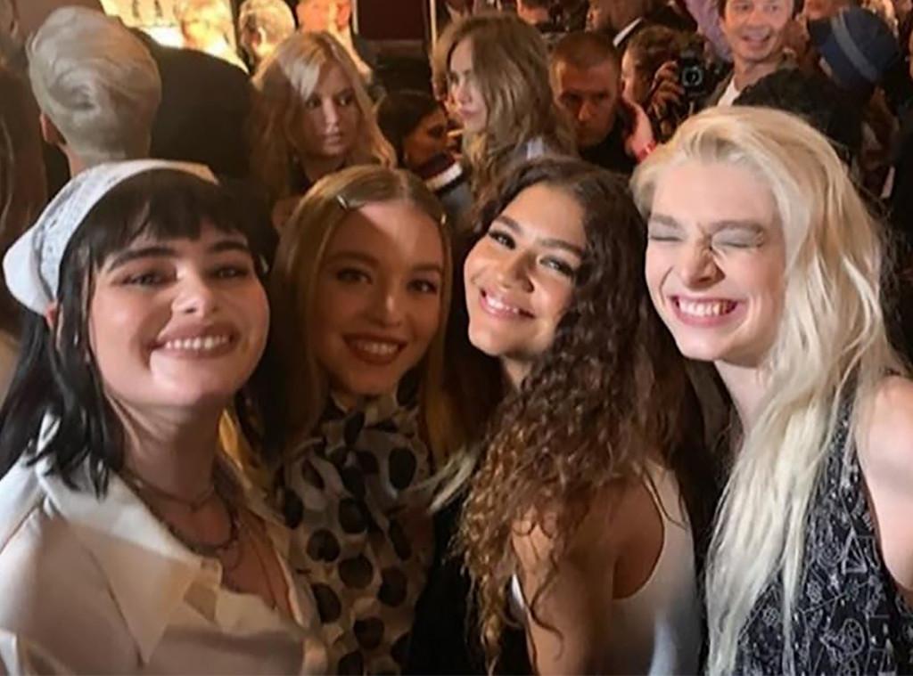 E-Comm: Zendaya, Euphoria Cast, Tommy Hilfiger Show, TOMMYNOW, 2019 New York Fashion Week
