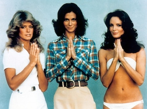 Charlie's Angels, cast, Farrah Fawcett, Kate Jackson, Jaclyn Smith