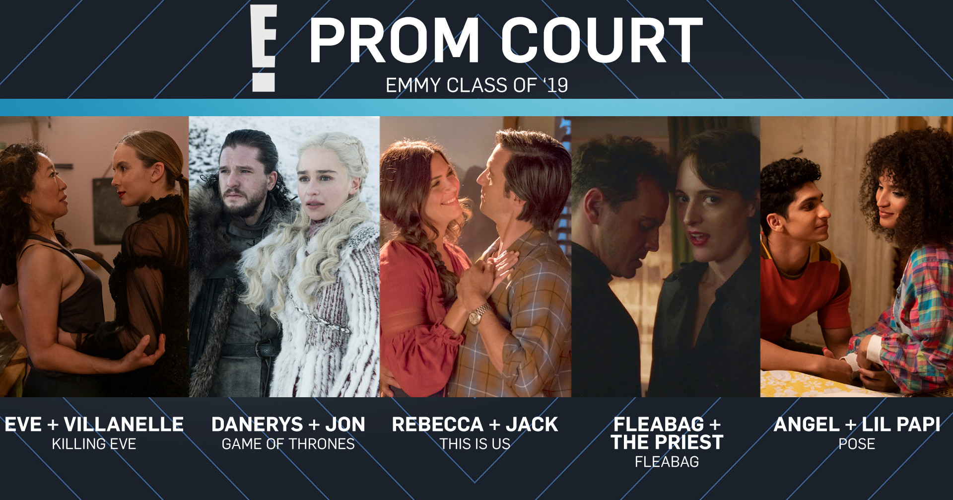 Emmy Class of 2019, Prom Court