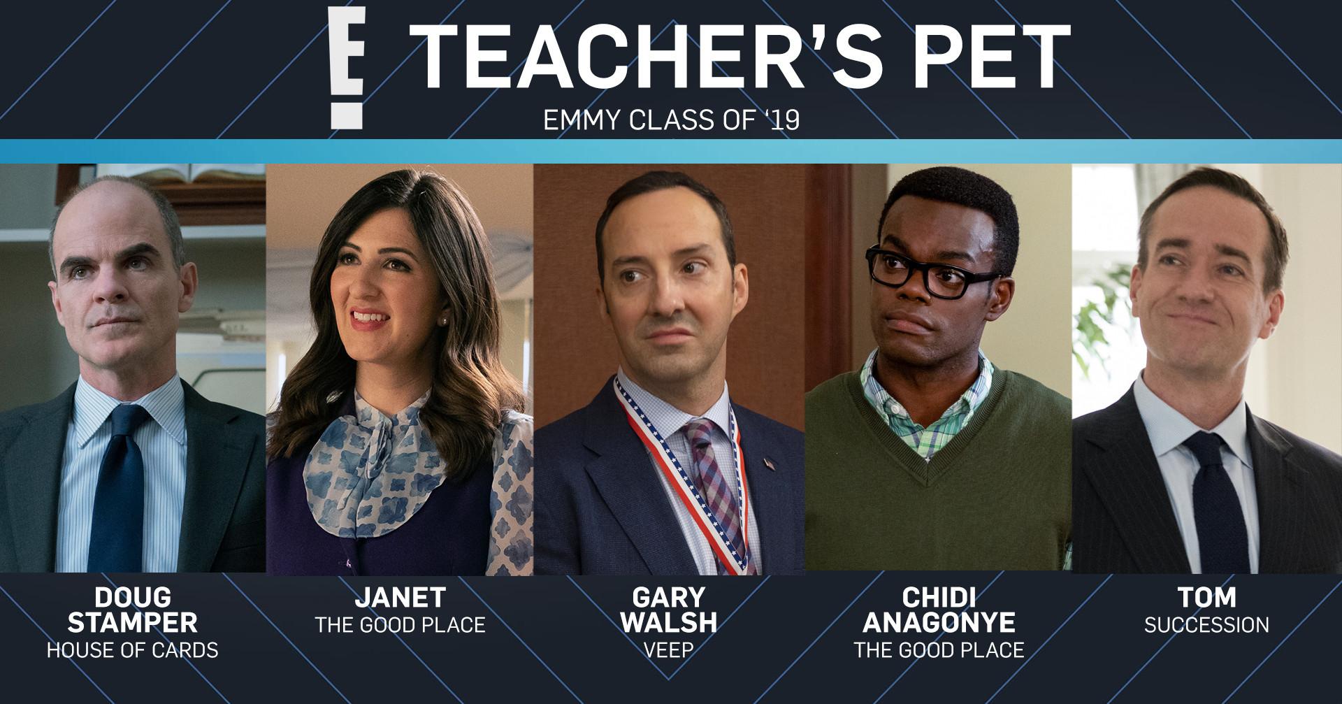 Emmy Class of 2019, Teacher's Pet