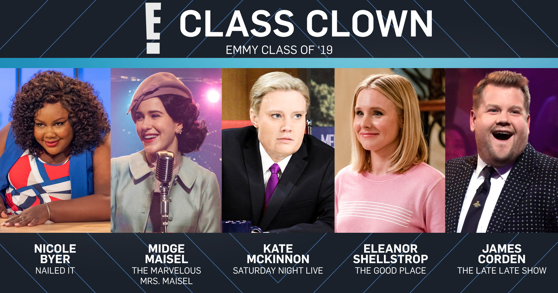 Emmy Class of 2019, Class Clown