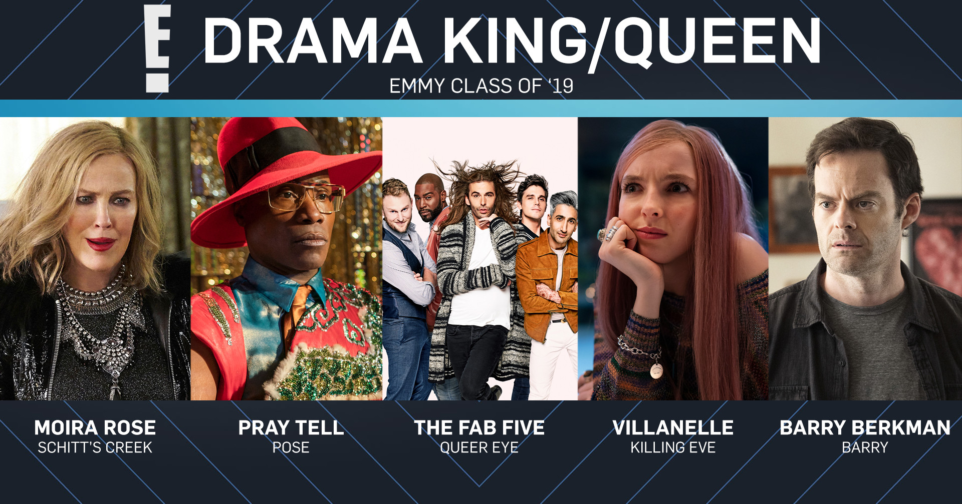 Emmy Class of 2019, Drama King and Queen