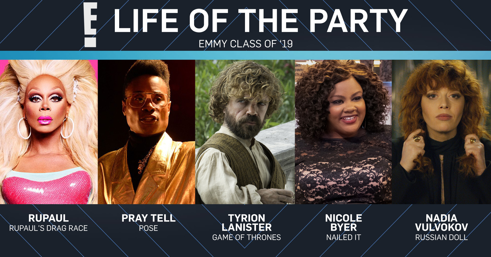Emmy Class of 2019, Life of the Party