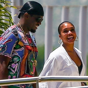P Diddy and Lori Harvey